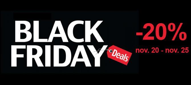 Use BlackFriday as discount code